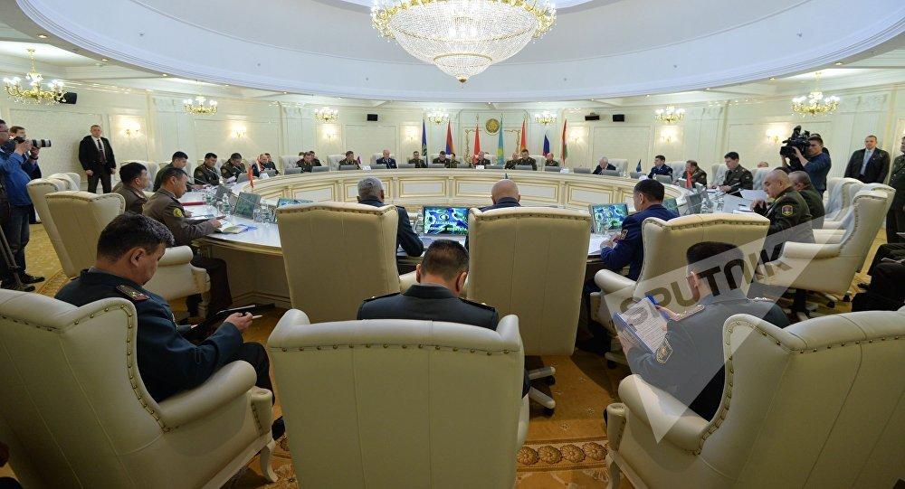 """""""Rus NATO-su"""" İrəvanı cəzalandırdı: İclas ləğv edildi"""