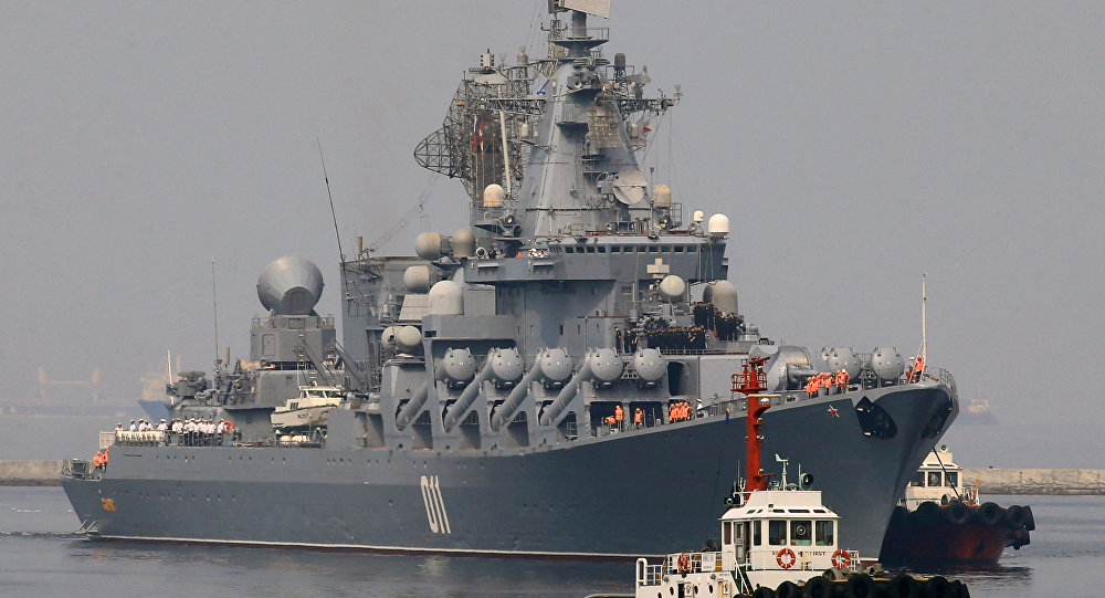 Russian warships were sent to the Mediterranean