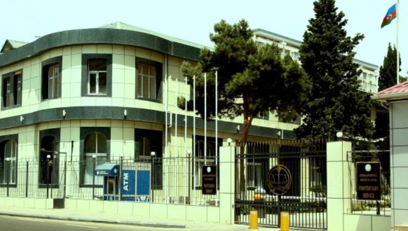 Penitensiar Xidmətin binası yanır