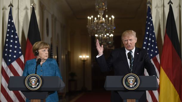 Merkel turns down Trump's proposal to meet in person