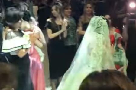 Məşhurlar Tağı Əhmədovun nəvəsinin toyunda - Video