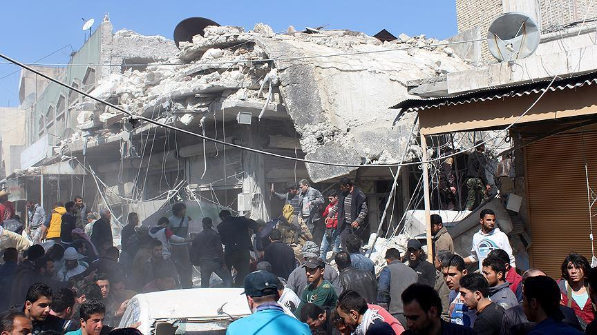 Death toll in Idlib rises to 12 after an attack
