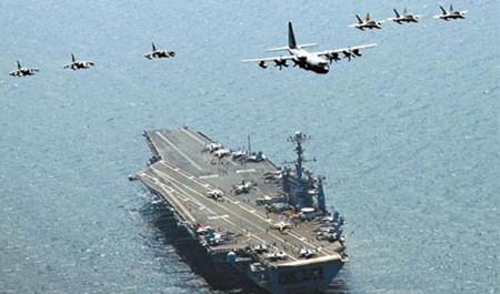ABŞ donanması İranı nəzarətə götürdü: