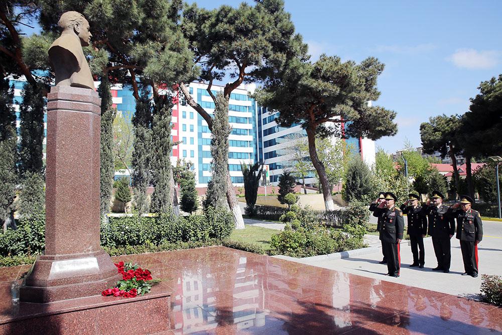 Закир Гасанов на 25-тилетии Главного госпиталя ВС