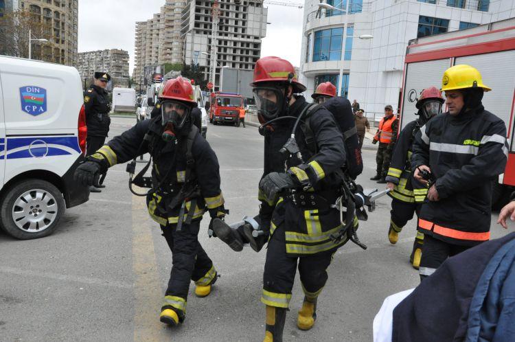 МЧС проведет учения в Баку