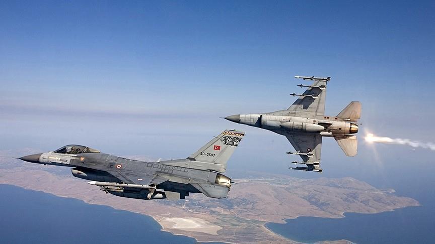 ВВС Турции нанесли удар по террористам на севере Ирака