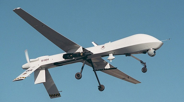 MQ-9 military drone of the U.S. was shot down in Yemen