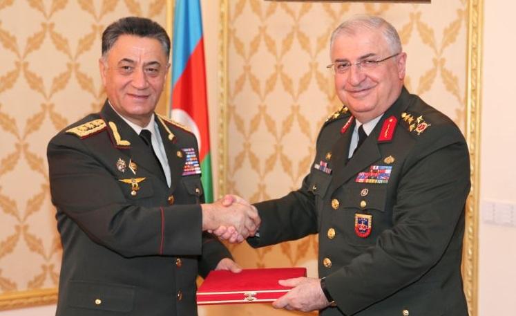 Usubov Türkiyənin ordu generalı ilə görüşdü