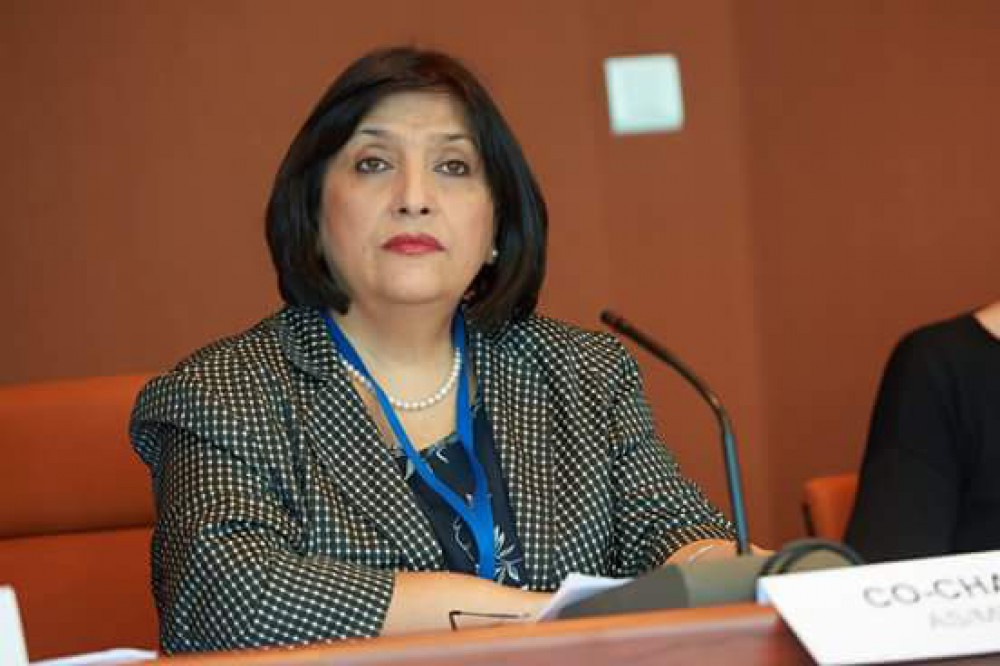 Sahiba Gafarova parliament takes part in int'l conference