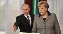 Almanlar Putinin kansler olmasını istəyir – Foto