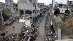 Syrian army  kicks out ISIS from  Qaryatayn Town