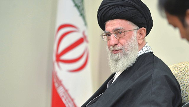 "Khamenei called Israel a ""garrison of terror."""