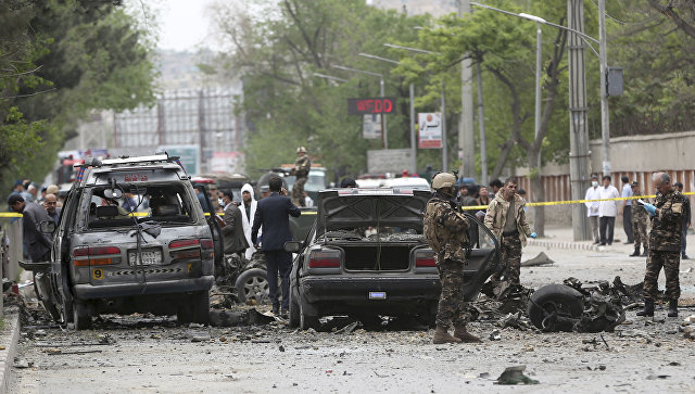 Explosion hits a mosque in Afghanistan's Kabul