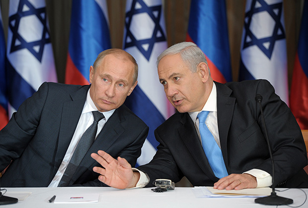 Putin, Netanyahu discuss cooperation on Syrian settlement