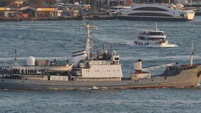 روس کشفیات گمیسی ایستانبول بوغازینا گیردی