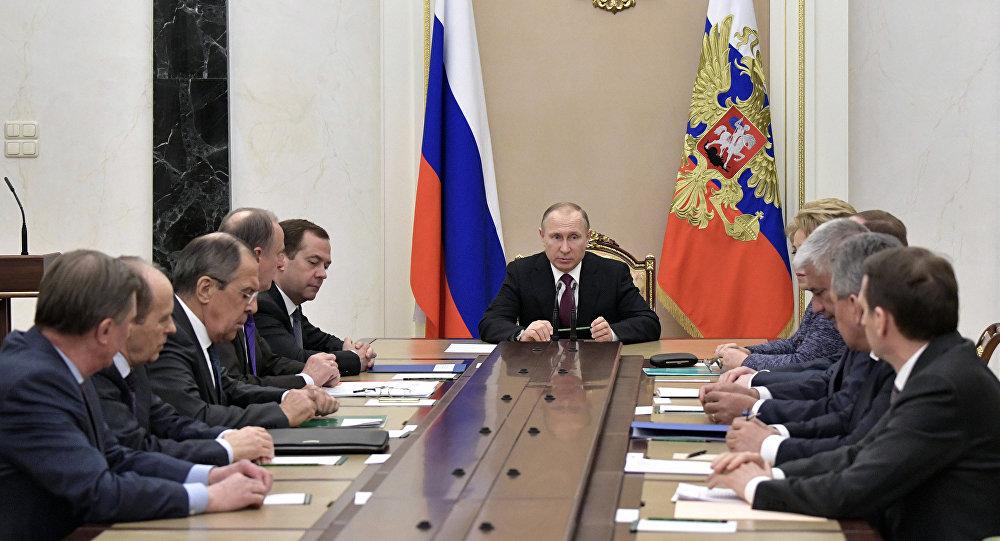 Putin Təhlükəsizlik Şurasını çağırdı