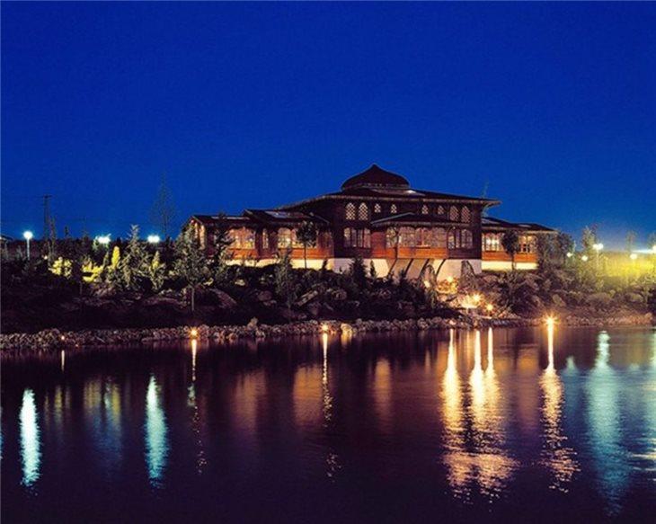 Adnan Oktarın İstanbulda lüks villası: Krallar kimi... - Foto