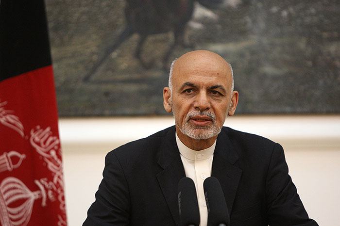 Afghan president urges Taliban again for ceasefire
