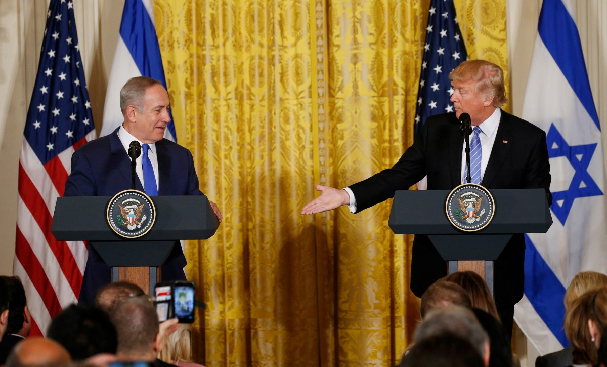Trump to present Middle East plan to Israel