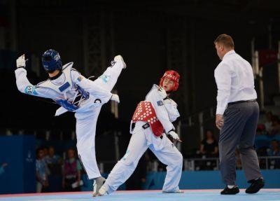 Azerbaijani taekwondo fighter wins license for Tokyo 2020