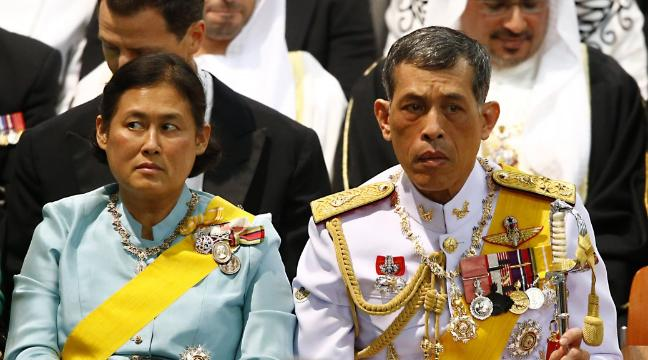 Thailand marks final coronation of King Vajiralongkorn
