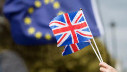 Britain wants to discuss length of Brexit transition with EU