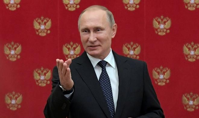 Немцы хотят видеть Путина канцлером Германии - Фото