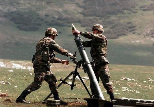 ارمنی لر جبهه خطینی آتشه توتدو