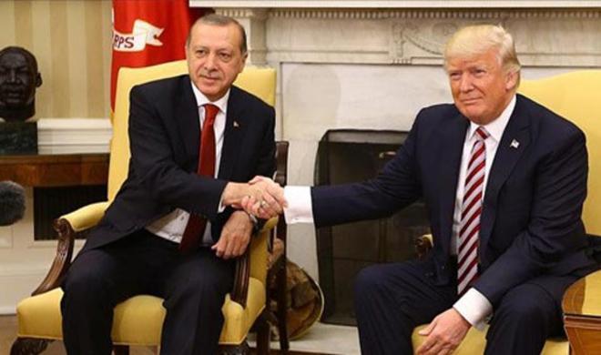 Трамп с Эрдоганом стали друзьями