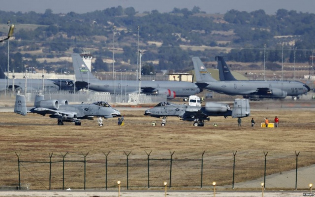 Turkey threatened to close its popular base
