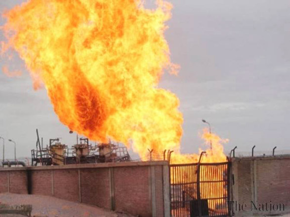 A chemical plant was blown up in Iran