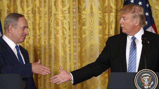 Нетаньяху поблагодарил Трампа за Голанские высоты