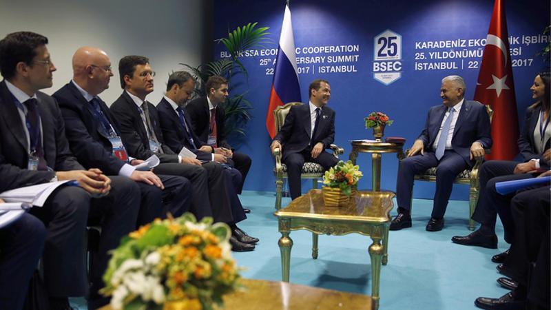 روسییا و تورکییه موهوم بیانات ایمضالادی