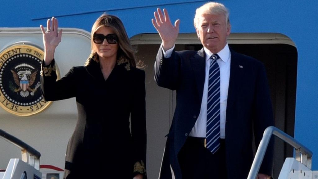 Меланья вновь отказала Трампу - Видео