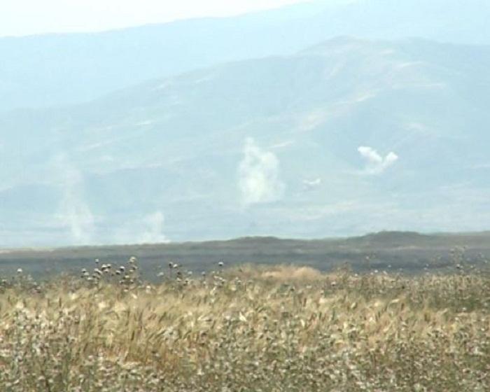 Armenians burning Boyuk Marjanli