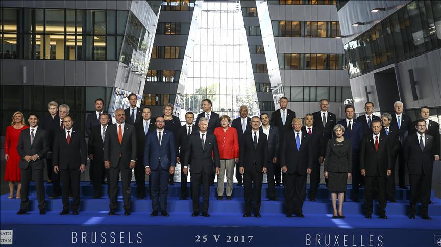 NATO-nun möhtəşəm binası: Tramp yenə fərqli danışdı - Video