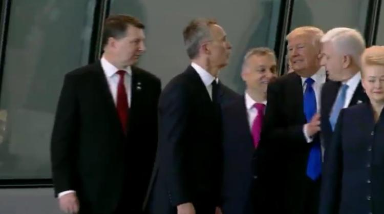 ترامپدان کوبود حرکت: باش ناظری بئله ایتلهدی - ویدئو