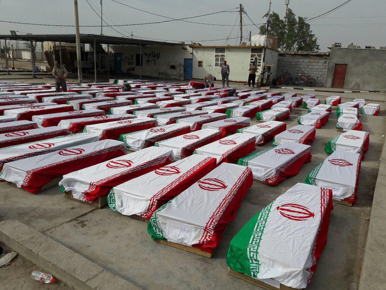 ایران  ۴۶ جنازهسینی تحویل آلدی
