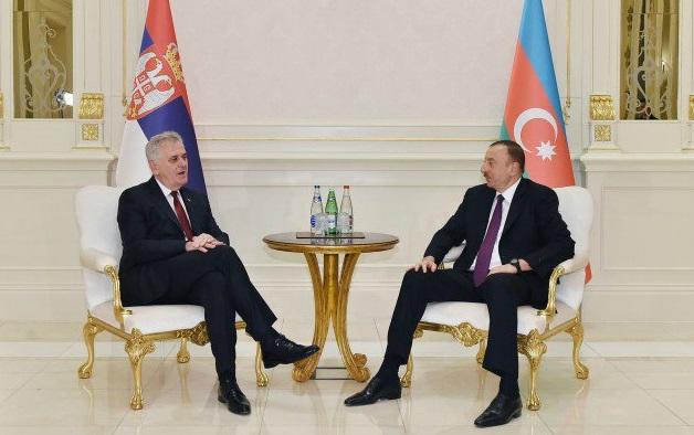 Serbian president congratulated Ilham Aliyev