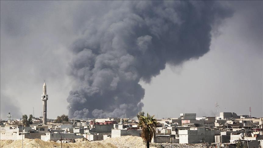 Недалеко от аэропорта Багдада упали две ракеты