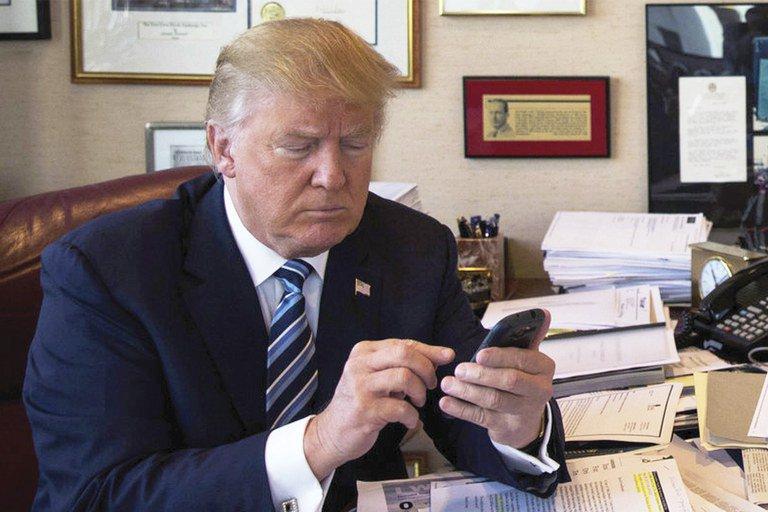 На iPhone Трампа установлено только одно приложение