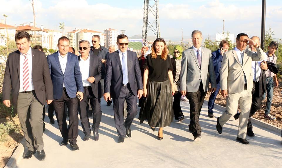 Ankarada Qarabağ parkı açıldı - Foto