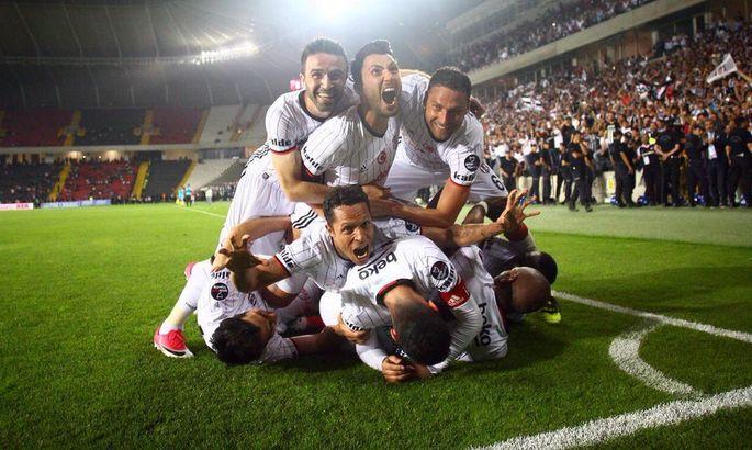 """""""Beşiktaş"""" Çempionlar Liqasında tarix yazdı"""
