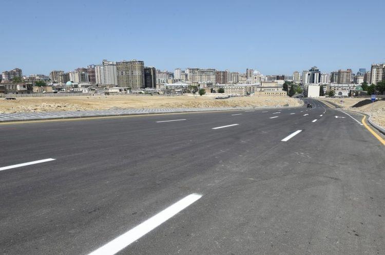 Строится новая дорога Баку-Губа-Россия