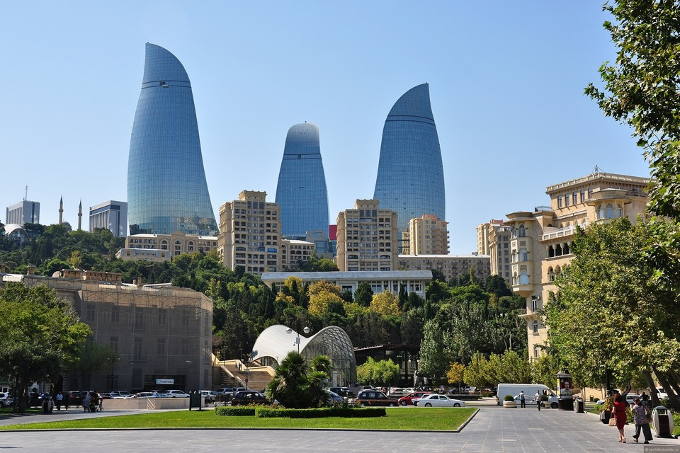 """Почти все отели Баку заполнены из-за """"Формулы-1"""""""