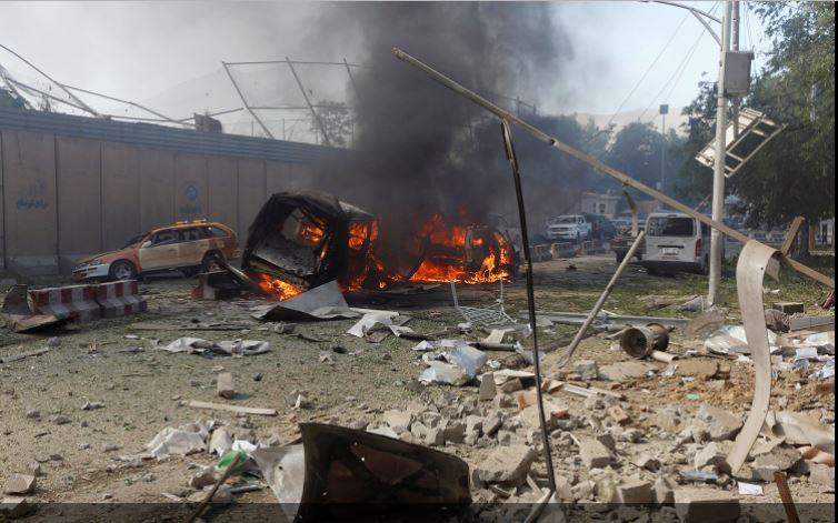 Kabildə nazirlik binasına hücum: 6 ölü, 6 yaralı