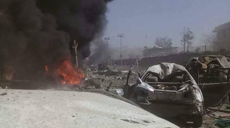Смертник подорвался у министерства в Кабуле