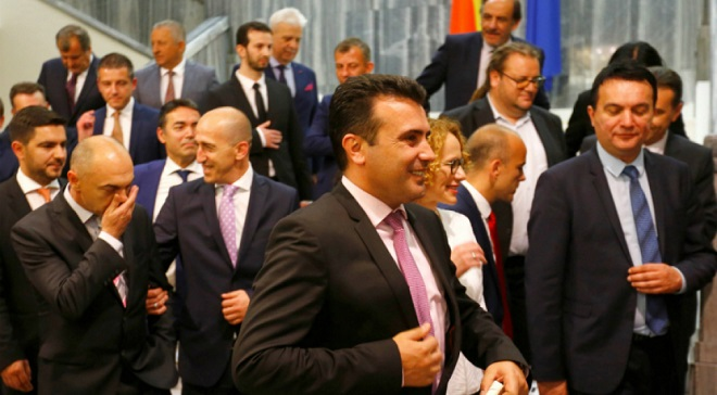 Şimali Makedoniyada ittifaq dağılır