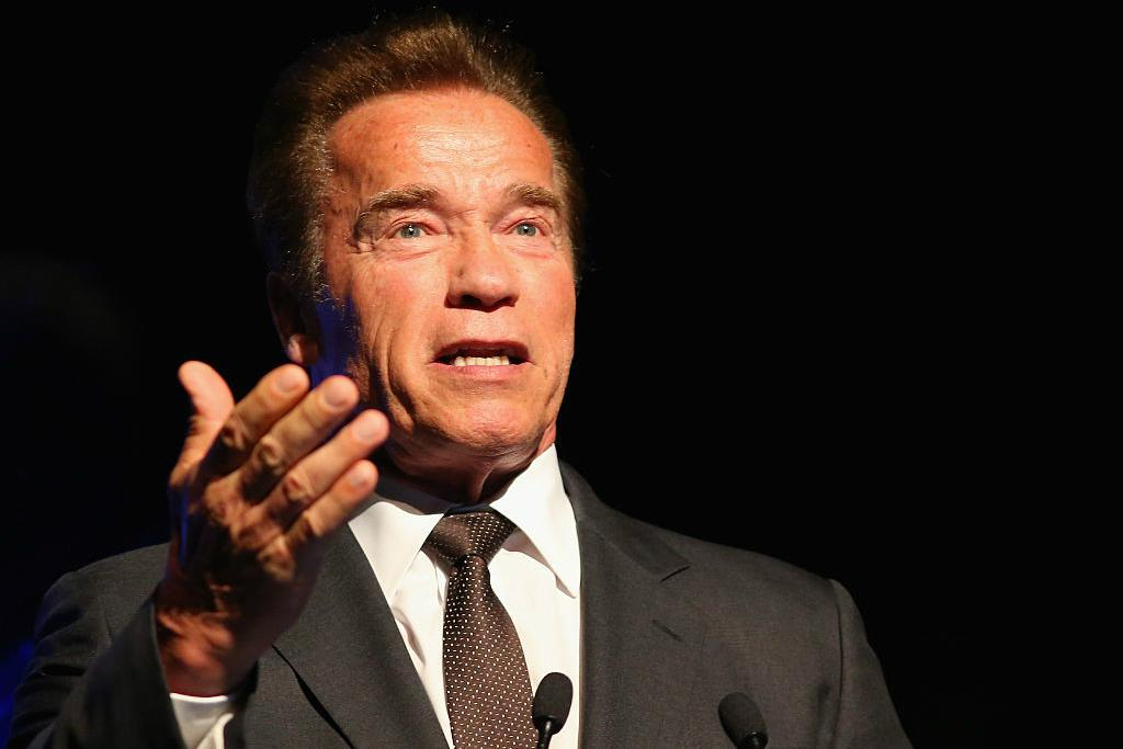 Schwarzenegger was attacked -
