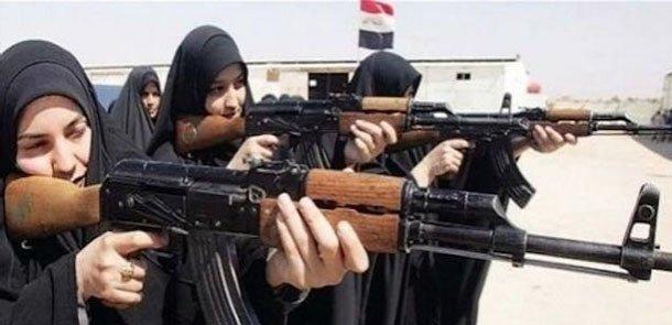 Tuneldən 25 İŞİD-çi qadın tapıldı